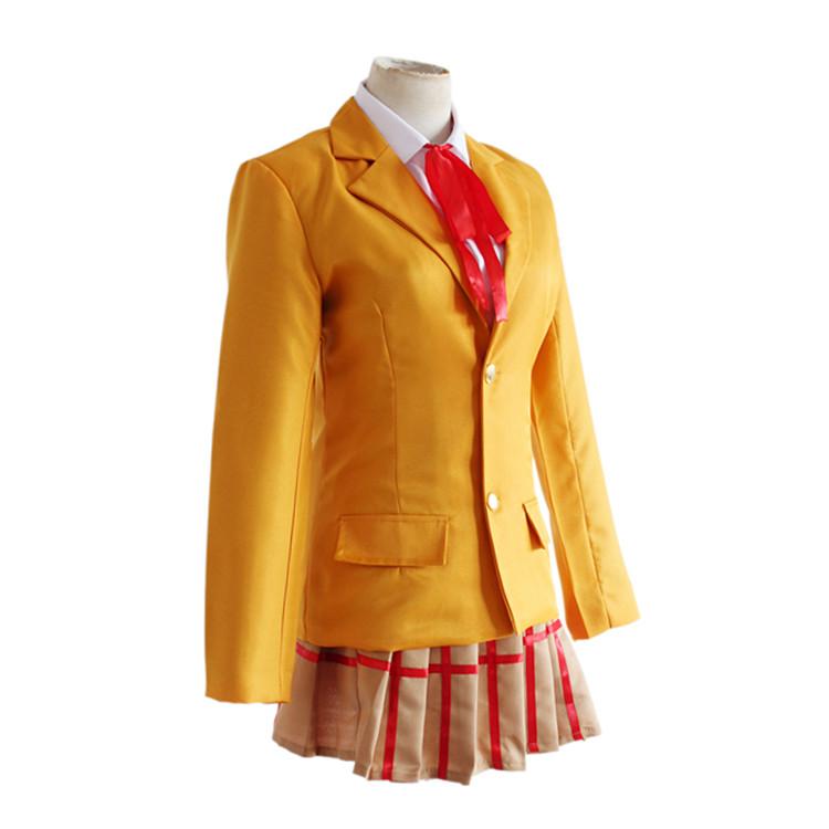 Prison School Kurihara Mari Midorikawa Hana Meiko Cosplay School Uniform Costume