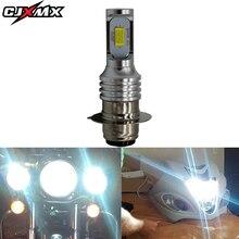 CJXMX 1Pcs P15D H6 BA20D LED Motorcycle Headlight Bulb 1600LM 40W 6500K Super Bright Canbus Led Scooter Moto Accessories