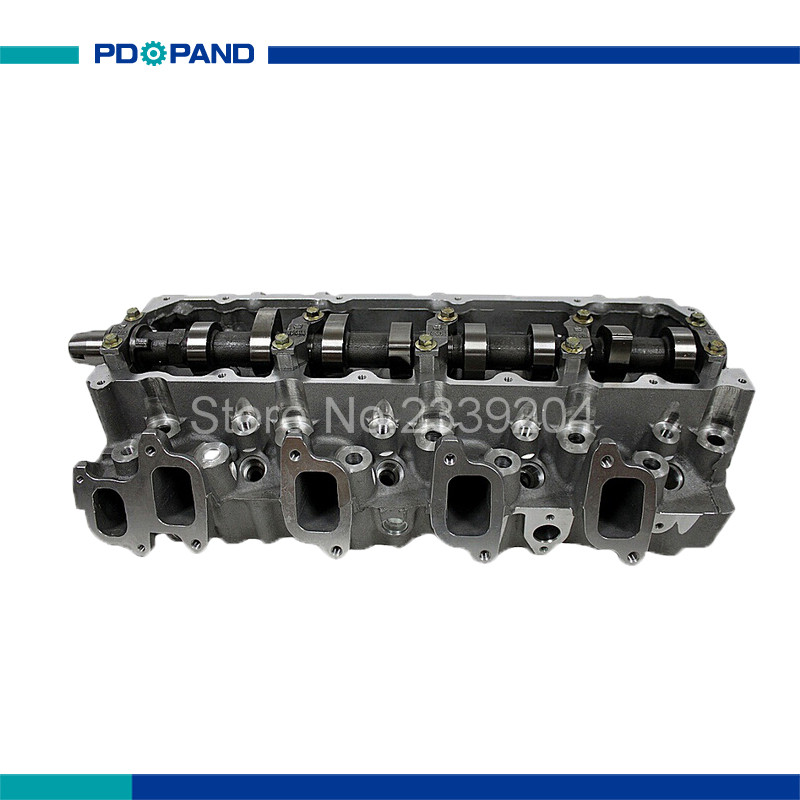 US $311 26 15% OFF|1KZTE 1KZ TE complete cylinder head assy 908882 for  Toyota Land Cruiser Granvia Hiace Hilux 4Runner 11101 69175 3 0TD-in  Cylinder