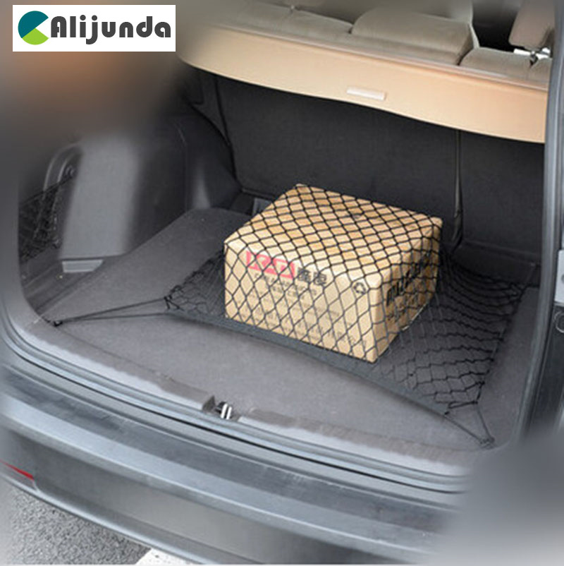 Alijunda Car trunk floor cargo net for BMW 1 <font><b>2</b></font> 3 4 <font><b>5</b></font> 6 7 Series X1 X3 X4 X5 X6 325 328 F30 F35 F10 F18 GT image