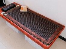 Venta caliente Masaje Con Piedras De Calor de Jade Terapia Termal Jade Jade Colchón Colchón para La Belleza Cuidado de La Salud 0.7X1.6 M envío Gratis