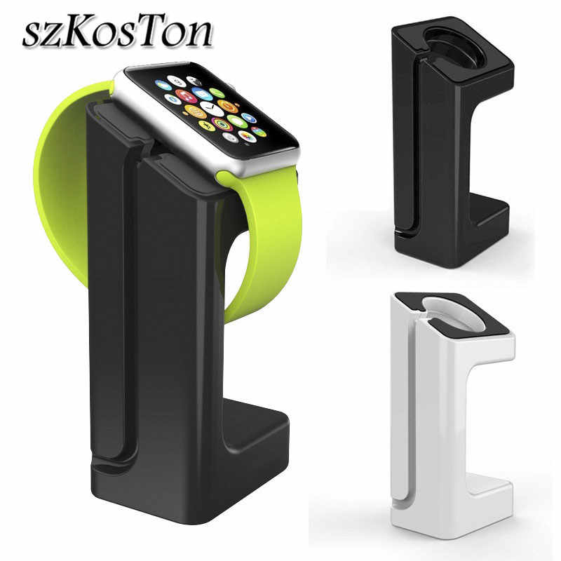 Charger Dock Station Pemegang Tali Gunung Stand untuk Apple Watch Seri 1 2 3 42 Mm 38 Mm Pengisian smart Watch Bracket Pemegang