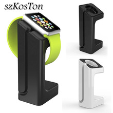 Charger Dock Station Holder Watch band Mount Stand For Apple Watch Series 1 2 3 42mm 38mm Charging Smart Watch Bracket Holder