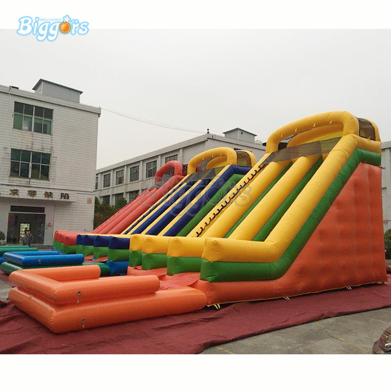 Hot sale giant inflatable water slide with pool inflatable water pool slide hot sale pool type 0 9mm pvc inflatable swimming pool for water ball boat use