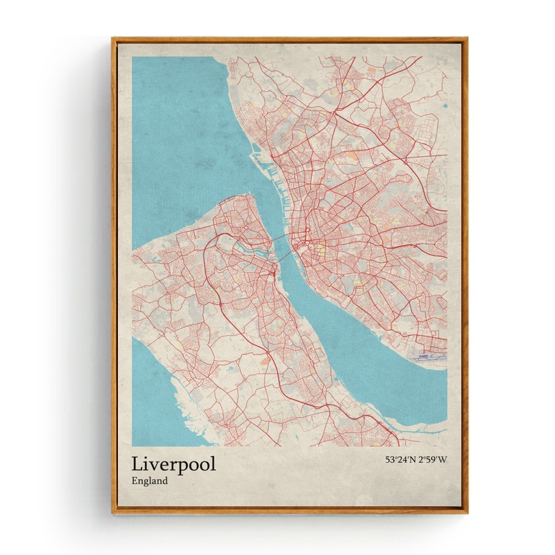 Liverpool Map Of England.Us 8 4 40 Off World City Map Leeds England Limognes France Liverpool England Living Room Wall Art Picture Home Decor Canvas Painting In Painting