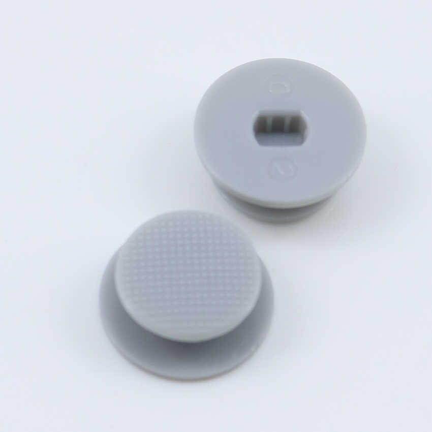 JCD [1 قطعة/الوحدة] عالية الجودة عصا تحكم تناظرية ثلاثية الأبعاد غطاء ل PSP2000 PSP3000 لعبة وحدة التحكم إصلاح ألوان متعددة
