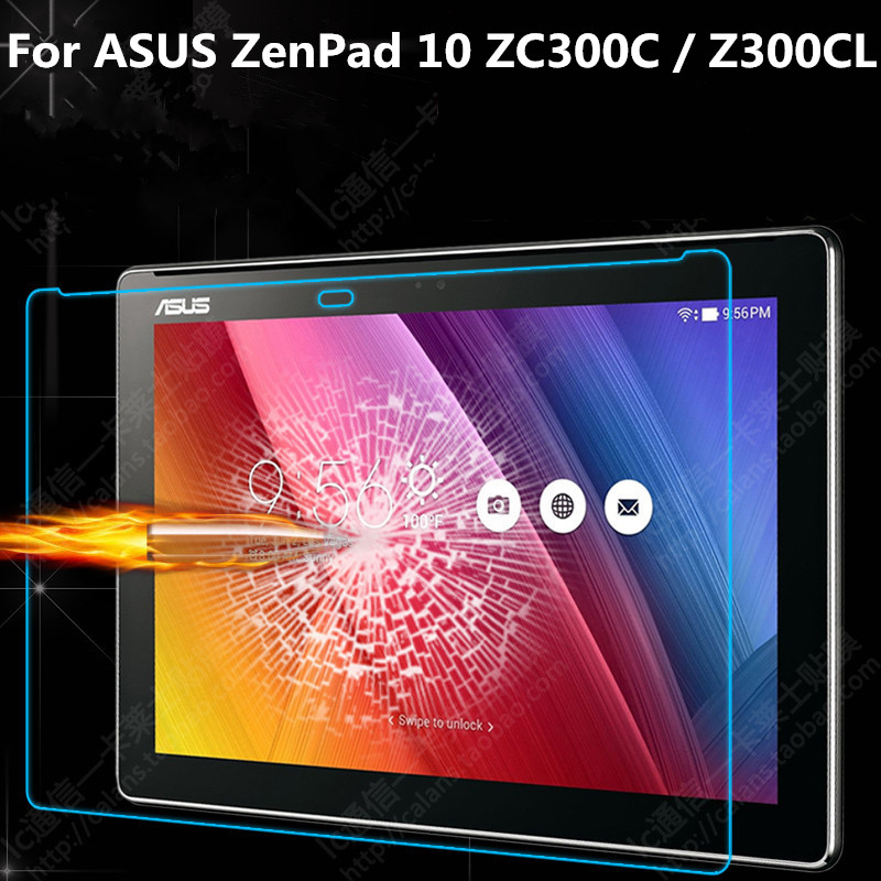 Premium Real Tempered Glass 9H Screen Protector For ASUS ZenPad 10 Z300C Z300CL