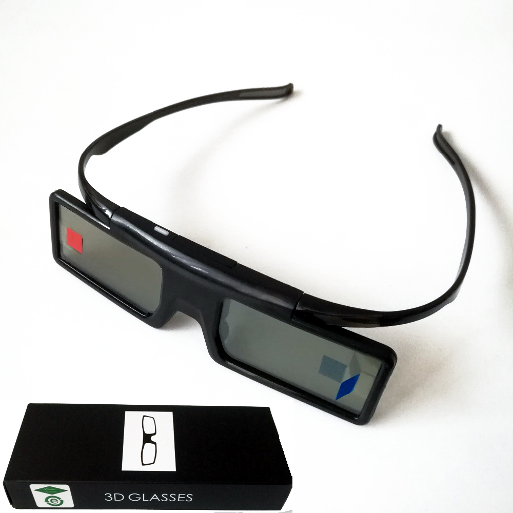 цена на Active Shutter Bluetooth RF 3D Glasses 480Hz for Samsung 3D TV EPSON Projector TW6600/5350/5030UB/5040UB & Sony W800B Series