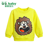 2015 Newarrival Baby Boys Girls Cotton Long Sleeved Clothes Baby Tops Cute Clothing China Newborn Shirts