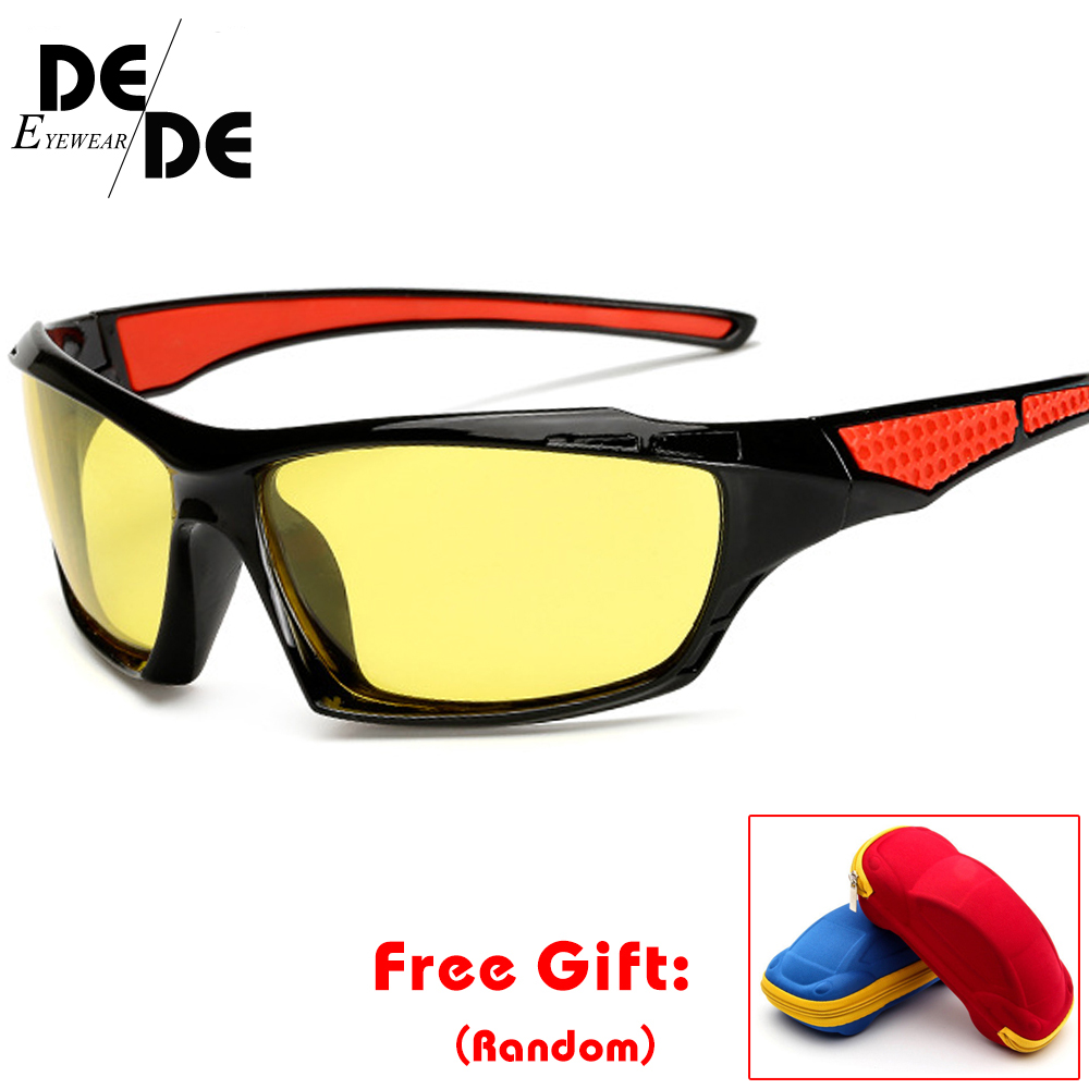 HD Polarized Sunglasses Men Black Frame Driving Sun Glasses Women Luxury Brand De Sol Gafas UV400 Eyewear Accessories With Box in Men 39 s Sunglasses from Apparel Accessories