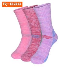 Ladies Winter Padded Cotton Socks Warm Ski Mountaineering Sports Home 3320