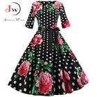 Women Vintage Dress ...