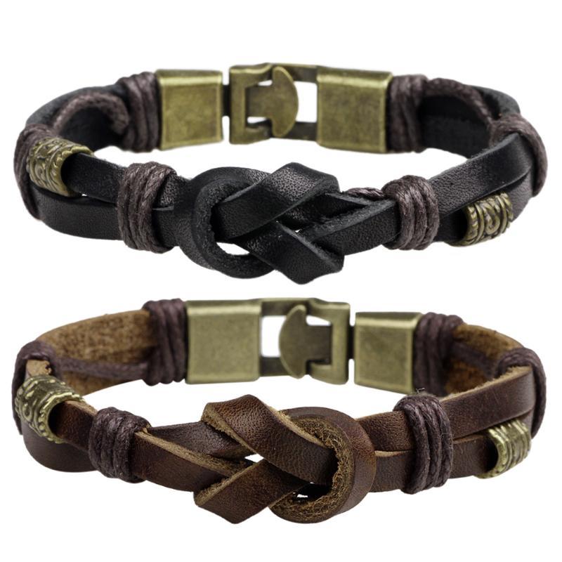 Punk Jewelry Charm Army Bracelet Women Men Cool Punk Leather Bangle Alloy Wristband Cuff Bracelet Ornament for Men Women