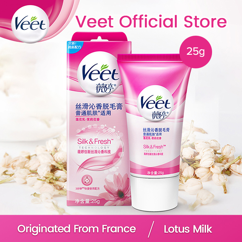 Veet Hair Removal Cream Normal Skin Lotus Milk Moist Jasmine