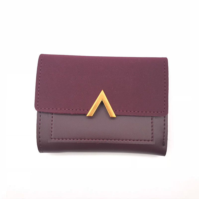 Matte Leather Small Women Wallet Luxury Brand Famous Mini Womens Wallets And Purses Short Female Coin Purse Credit Card Holder 4