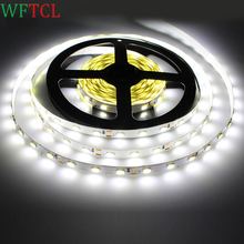 WFTCL LED Strip 5M 300Led 5730/5630 SMD DC12V 60Led/M String Ribbon Flexible Light Led Tape for christmas decoration CE RoHS