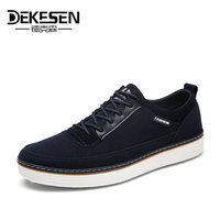 DEKESEN Fashion Mens Casual Shoes Autumn Krasovki Luxury Brand Canvas Shoes Men Sneakers Moccasins Men Shoes Chaussure Homme