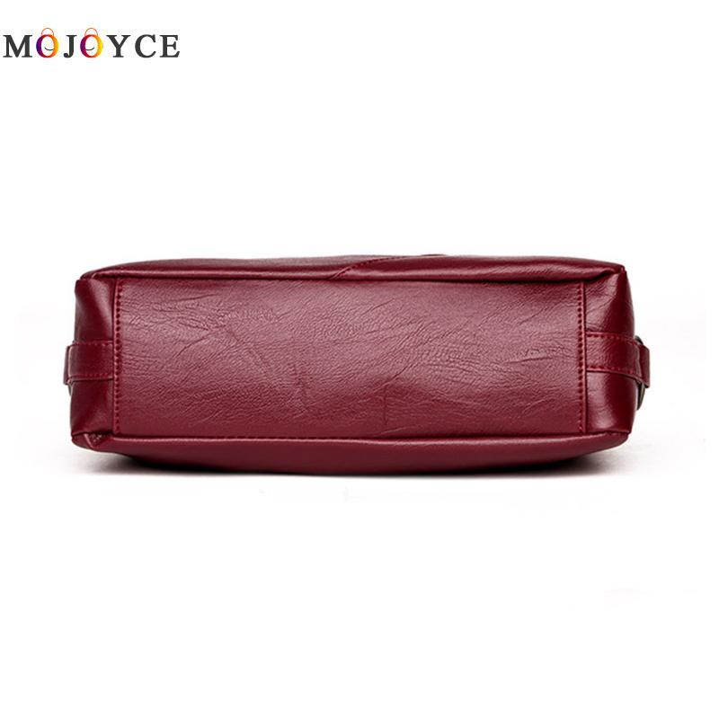 Luxury Handbags Women Bags Designer Elegant Office Ladies PU Leather Shoulder Bag Vintage Female Bolsa Feminina 5