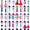 Wholesale 100 PCS/Lot  Wedding Dress Princess Gown Mix  Style Skirt  For Barbie Doll Gift  Baby Toy best Christmas gift