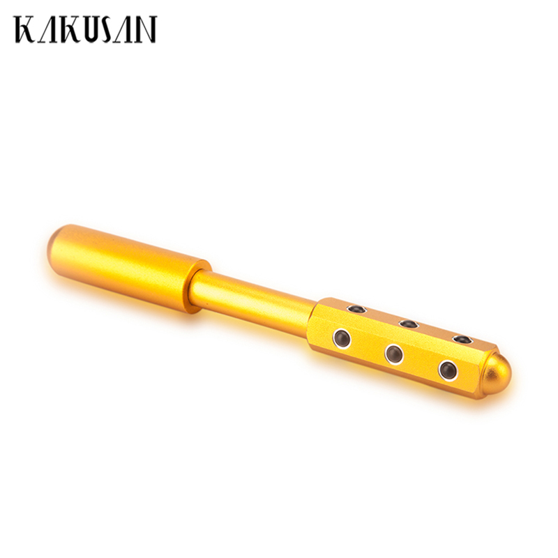 Купить с кэшбэком Kakusan germanium face massage roller gold facial massager roller for face lift/slimming