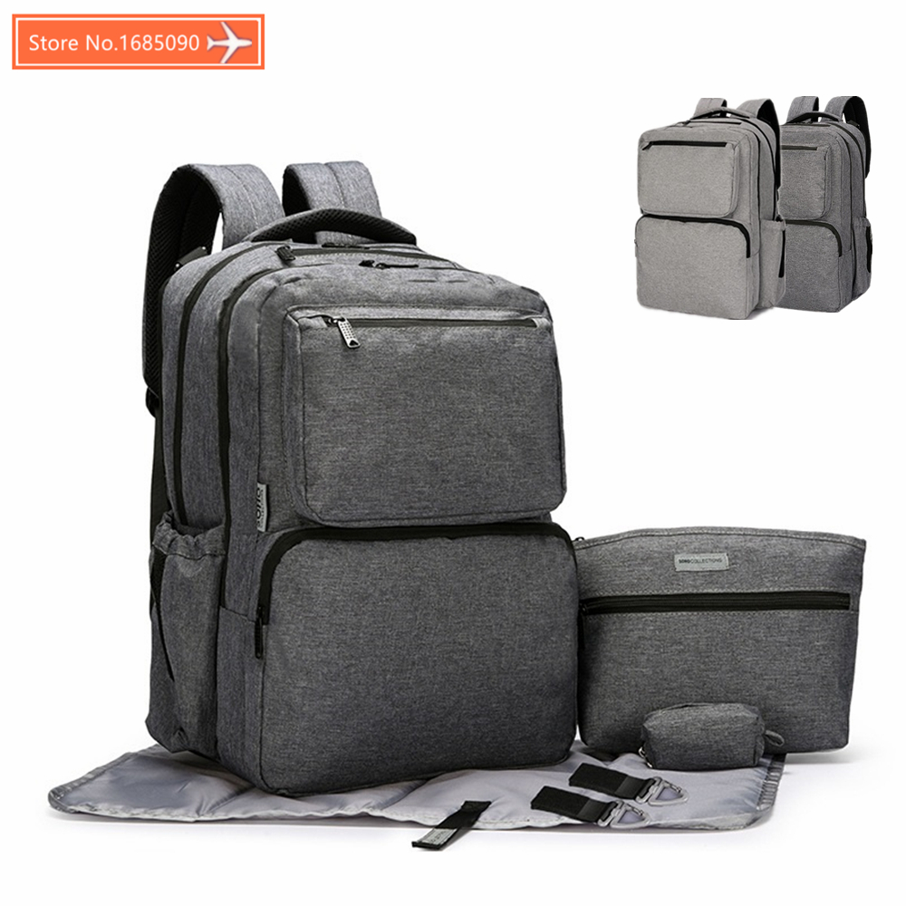 Large Capacity Maternity Backpack Nappy Diaper Backpacks For Travel Multifunctional Mother Mummy Mom Baby Bebe Bags Maternidade large capacity mother mummy mom baby bags nappy diaper backpacks for travel multifunction shoulder bags rucksack mochilas 120206