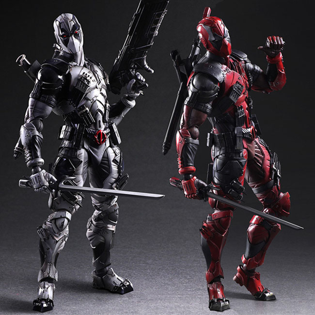 все цены на 2 Edition Marvel Super Hero Bad Guy Deadpool Wade Winston Wilson X-Force Square Enix Play Arts Kai 26cm Action Figure Toys