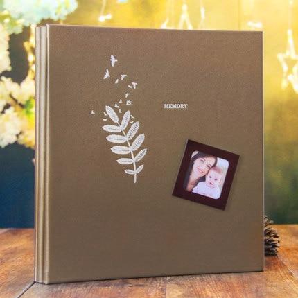 Bricolage Film Photo Album fait à la main pâte Photo galerie livre personnalisé romantique mémoire Record pour bébé amoureux famille mariage cadeau - 2