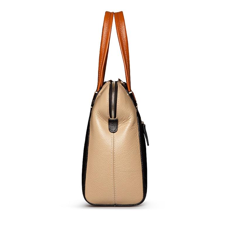 genuíno bolsas bolsa de ombro Material Principal : Couro Genuíno