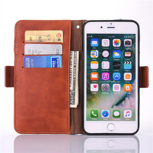 Image 5 - Fashion Jeans Canvas Cloth Leather Case For iphone 6 6s 7 7 Plus Case Book Flip Stand Wallet Bag For iphone X 8 8 Plus Cover Gel