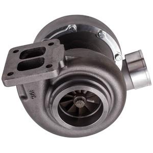 Image 4 - GT45 Turbo T4 v band Turbo ıslak şamandıra A/R. 66 1.05 evrensel türbini Turbolader için 3.0L 6.0L motor GT45R 5 turbo