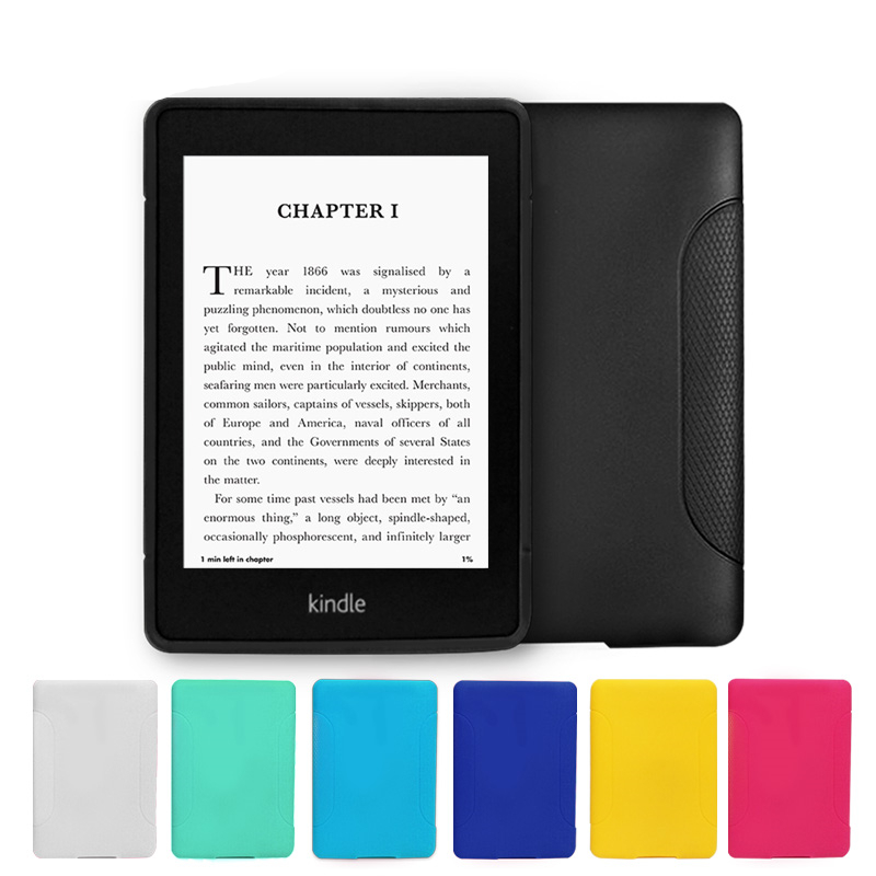 Us 4 65 5 Off For Kindle Paperwhite Case Soft Slim Tpu Silicone Light Weight Ebook Back Cover For Amazon Kindle Paperwhite 1 2 3 Capa Para Pen In