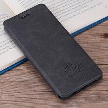 Для Meizu M5S Дело MOFI Высокое качество Роскошные Флип кожаный чехол подставка для Meizu M5S крышки с держателем карты 5.2 дюймов