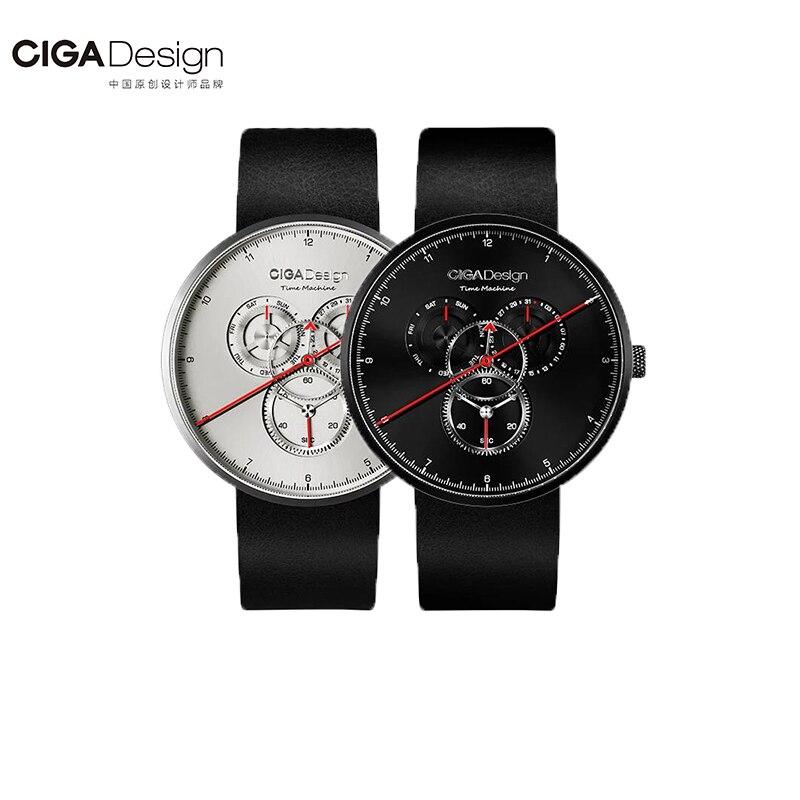 En Stock Xiaomi Ciga Watch Time Machine Trois Vitesse Conception Simple Quartz Montre Un Pointeur Conception Réglable Date Montre
