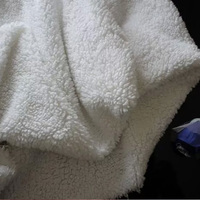Meters 1cm White Large Particles Berber Fleece Plush Cloth Handmade Dolls Muffler Scarf Clothes Lining Cloth