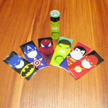 12pcs/lot 18650 Battery Skin Heat-shrinkable Casing Film Insulated Pvc Personality Cartoon Outer