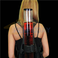 New Backpack Dispenser Single Beer liquid Shot Pump Gun PUB Club Beer Machine kit