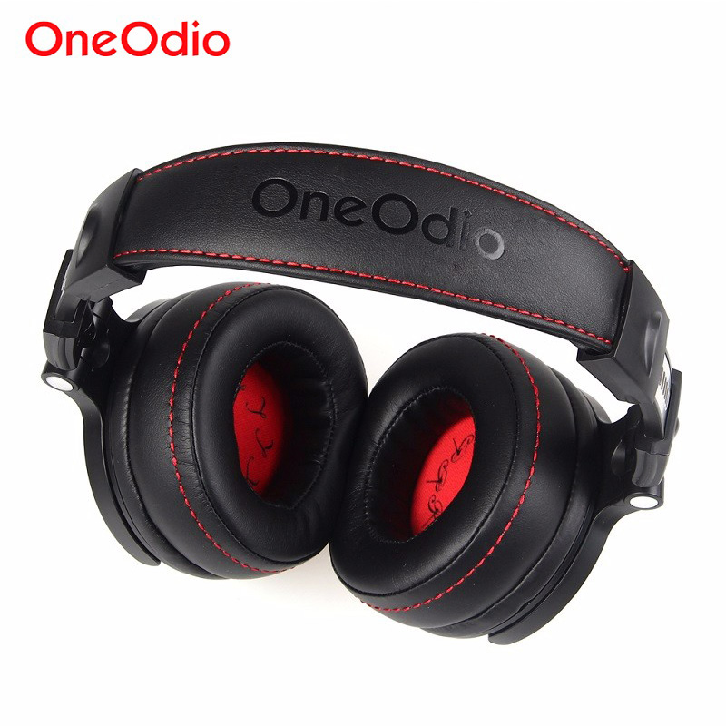 Oneodio Foldable Over-Ear Wired Headphone For Phone Computer Professional Studio Pro Monitors Music DJ Headset Gaming Earphone oneodio dj headset earphone with microphone pc wired over ear hifi studio dj headphone professional stereo monitor urbanfun