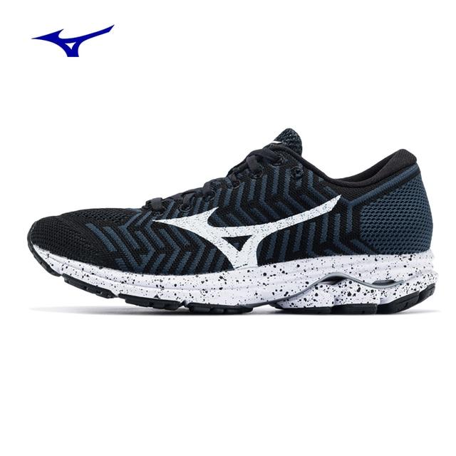 2018 New MIZUNO WAVEKNIT R2(W)Running Shoes women Breathable waterproof  Cushion Sports Shoes Comfort Jogging marathon Sneakers 17bf39c57
