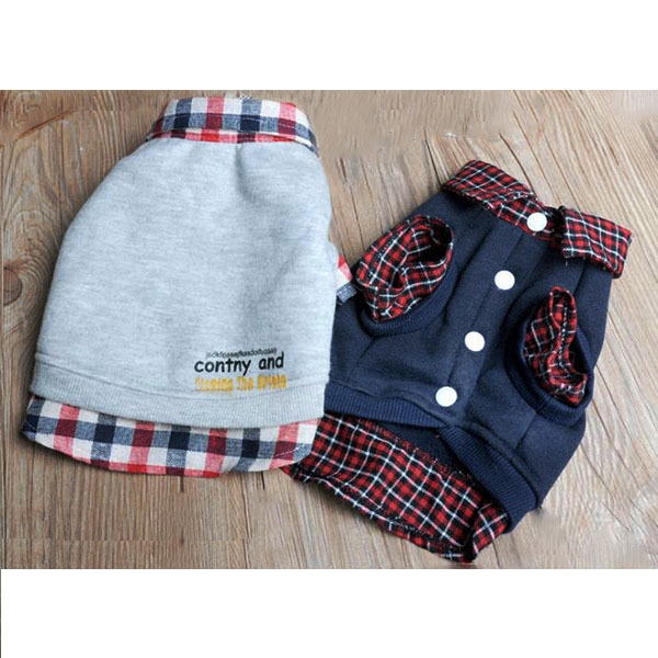 Hot Sales Factory Price! Dog Cat Jackets Sweater Puppy Warm Coat T-Shirt Pet Clothes POLO Shirt Dog Apparel