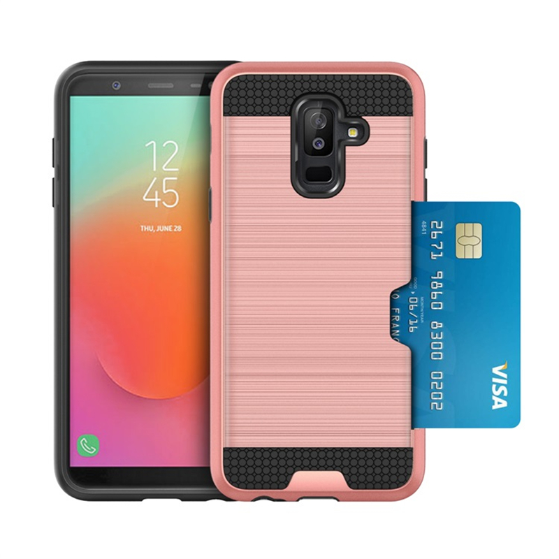 For Coque Samsung Galaxy J8 Case Cover For Samsung Galaxy J8 2018 Armor Case For Samsung J8 Phone Cover with Card Case Fundas