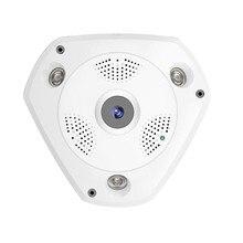 360 градусов панорамный Камера 960 P HD 1.3MP Камера Wi-Fi двухстороннее аудио панорамный indoor CCTV VR Камера ночного видения cam