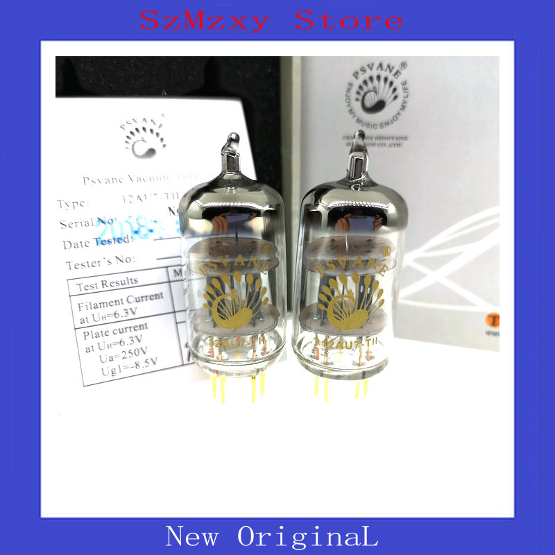 2PCS 4PCS PSVANE 12AU7-TII tube DIY HIFI MARKII 12AU7 ECC83 2pcs lot 12at7 tii hifi tube 12at7 diy