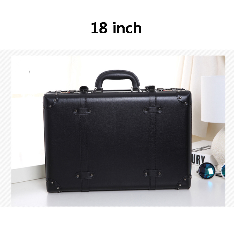 LeTrend Retro Rolling Luggage Set Spinner Women Password Trolley 24 inch Suitcase Wheels 20 inch Vintage Cabin Travel Bag Trunk
