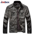 JOOBOX Brand Men Leather Jacket Fashion Retro Thicken Motorcycle Leather Jacket Men Winter Plus Size jaqueta de couro