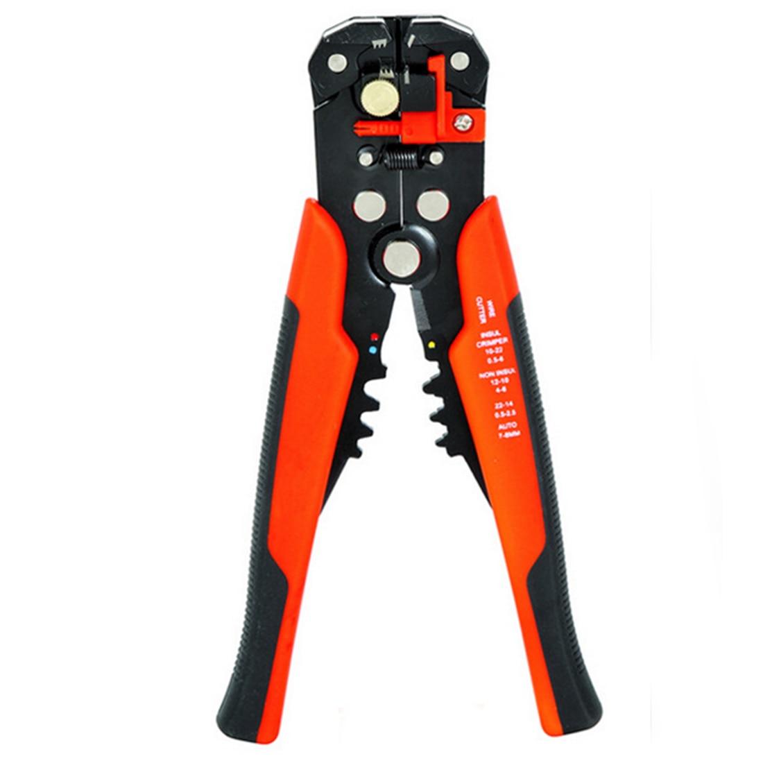 Handwerkzeuge Gutherzig 3 In 1 Automatische Kabel Draht Stripper Cutter Crimpen Zange Selbstnachstellende-crimp-werkzeug Anschluss Cutter Werkzeuge Elektro Farbe Zufällig