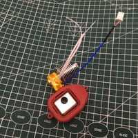 1 set hohe temperatur EXTRUDER Hot End MONTAGE kit düse montage-Guider 2/2 S für Flashforge guide 3D drucker
