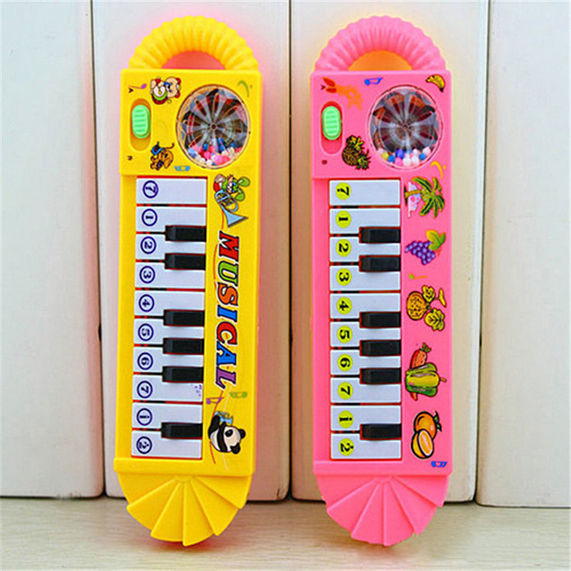 Baby Piano Toy Infant Toddler Developmental Toy Plastic Kid Musical Piano Early Educational Toy Musical Instrument Birthday Gift