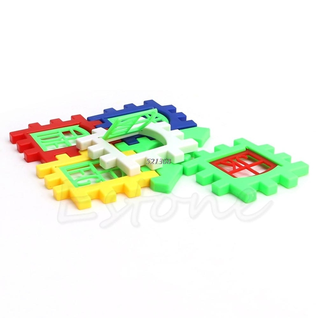 House Building Blocks Set