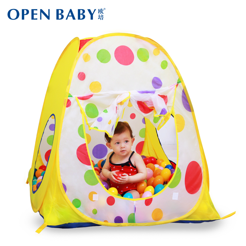 Child tent baby wave ball ocean ball pool indoor baby small house toy game house tent for children's tent teepee tent for kids