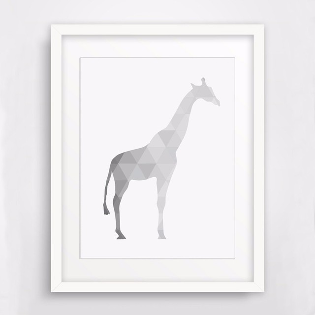 photograph relating to Gift Not Included Printable named US $5.19 35% OFF2016 Fresh new Artwork Giraffe Pets, Print Artwork Canvas Poste, Lovable Artwork Printable Presents, Morden Little one Children Place Decor, Body Not bundled-within